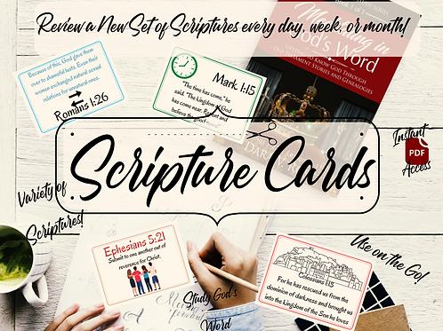 Scripture Cards ( Landscape & Khaki Collection)
