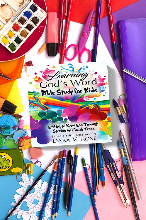 Learning God's Word | Bible Study for Kids | Genesis 1-9 | Lessons 1-6