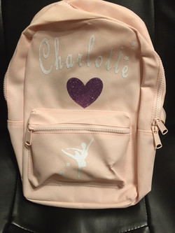 Ballerina Bookbag (Front)