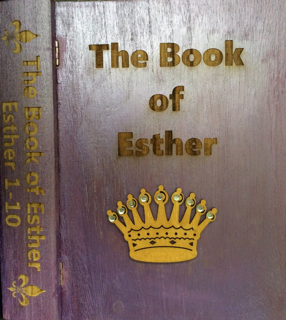 The Book of Esther Cover and Spine