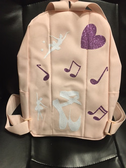 Ballerina Bookbag (Back)