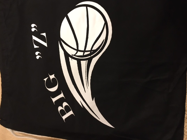Basketball Draw String Bag