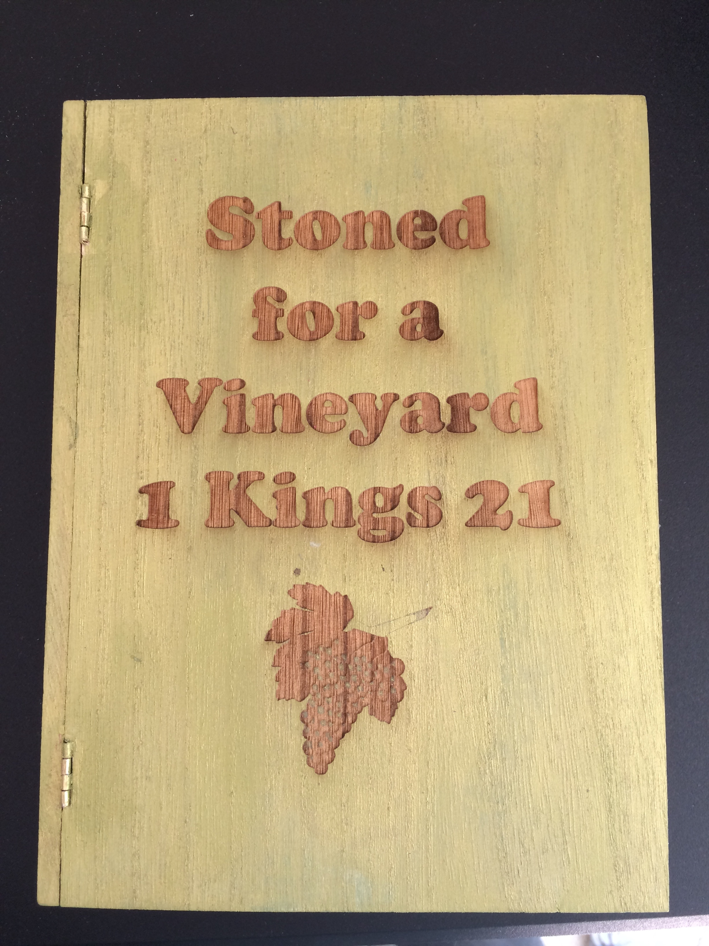 1 Kings 21 Front Cover
