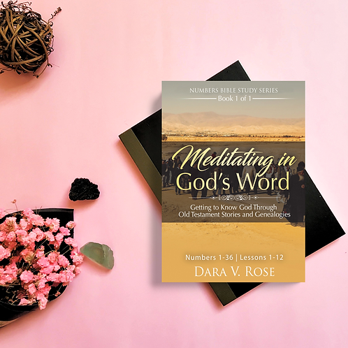 Meditating in God's Word Bible Study Series | Numbers Book 1
