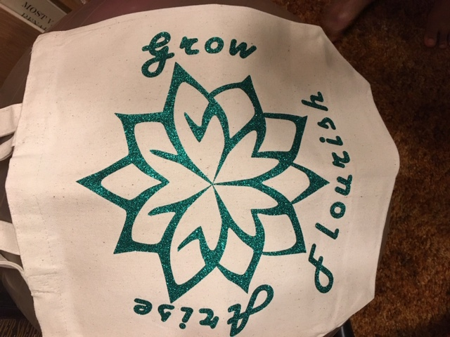 Green Grow Tote