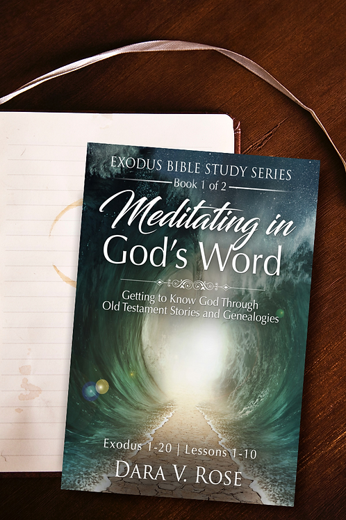 Meditating in God's Word Bible Study Series | Exodus Bundle Set | Books 1-2
