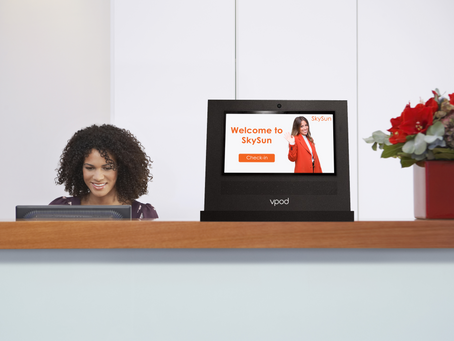 Vdesk visitor logging system: how does it work?