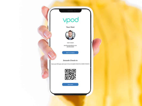 Vpod Next Generation Visitor Management Tool
