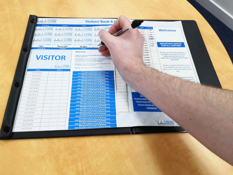 Why a visitor signing in book will damage your business