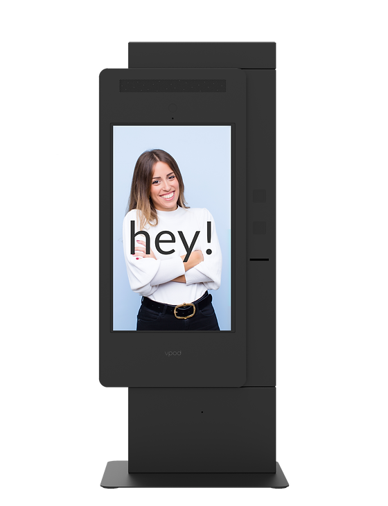 digital-visitor-management-system-with-smiling-woman