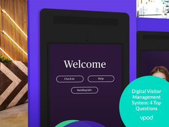 Digital Visitor Management System: 4 Top Questions Answered