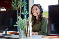 female-digital-receptionist-smiling