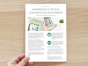 Vpod X MapsPeople: In Conversation