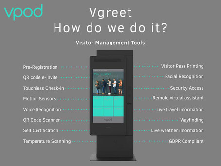 Saving Cost with Vgreet Visitor Management System