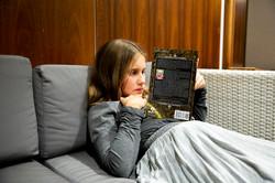Miss Sofia reading