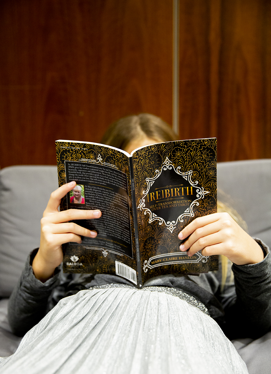 Sofia reading book