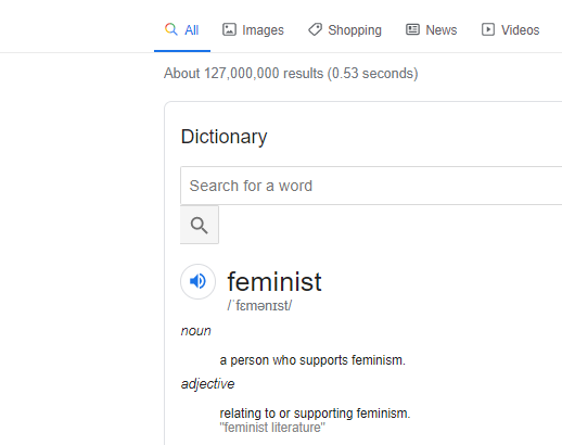 Am I a Feminist? Are you?