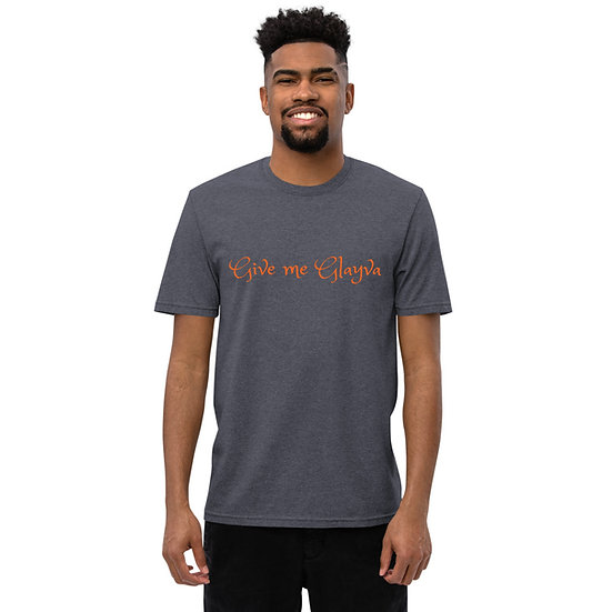 """Unisex recycled t-shirt """"Give me Glayva"""""""