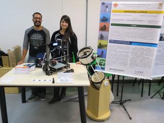 """Alunos integrantes do """"Ciência 3D Impressa"""" apresentam projeto durante a I Caravanexc em S"""