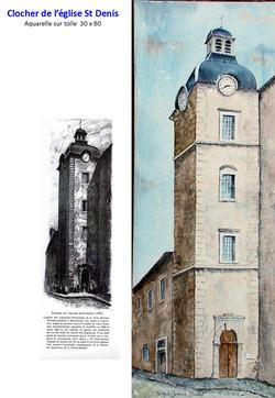 clocher de l'église St Denis
