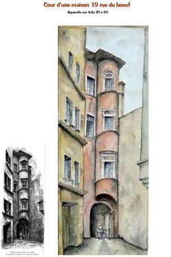 cour de maison rue du boeuf