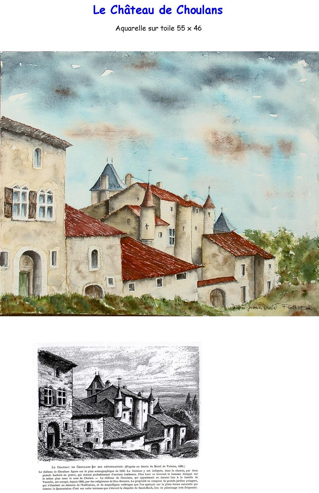 chateau choulans