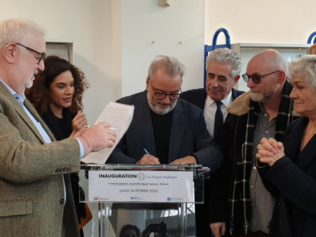 Inauguration réussie pour La Claye Digitale