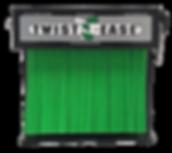 4in Twist Tie Dispenser Green (Color Cor