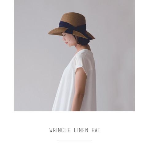 Cheer wrincle linen hat.jpg