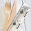 Thumbnail: Eco Cutlery Set K/F/N 25 Pack