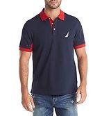 Nautica Pique Polo Shirt