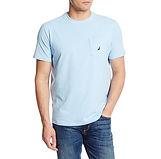 Nautica Solid Crew Pocket T-Shirt