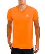 Adidas Sleeve V-Neck T-Shirt