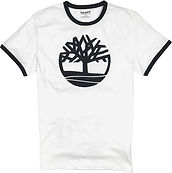 Timberland Tree Logo Ringer T-Shirt