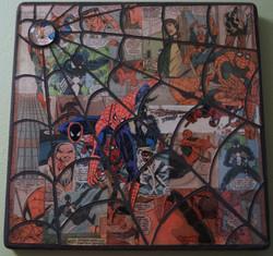 spiderman webbed