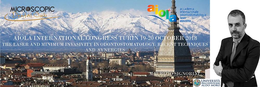 AIOLA international congress Turin 19-20 October 2018
