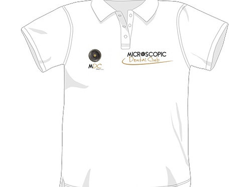 Official white polo shirt