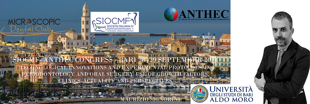 SIOCMF- ANTHEC CONGRESS - BARI 28 -29 SEPTEMBER 2018