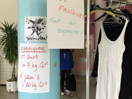 Troc fringues au lycée Jean Monnet