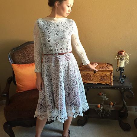 Project 56: Adult Shetland dress