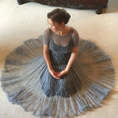 Project 43: Icicle Lace mohair dress