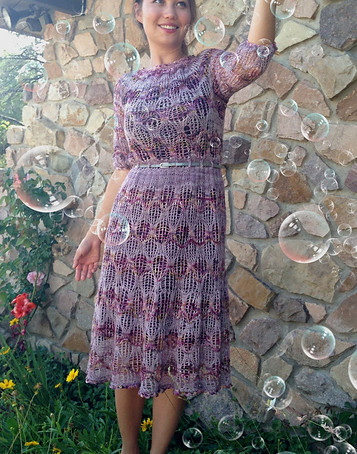 Project 39: Camino Bubbles dress
