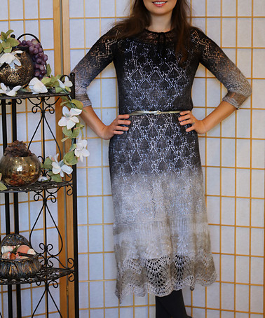 Project 65: Bell Lace dress