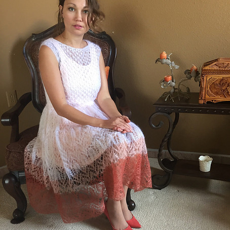 Project 44: Heavenly Lace mohair Dress