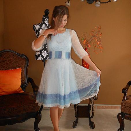 Project 24: Be sweet striped dress