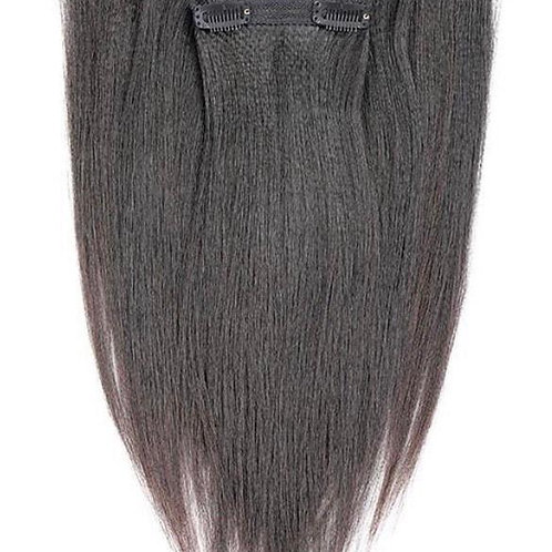 Relaxed Straight Clip-ins