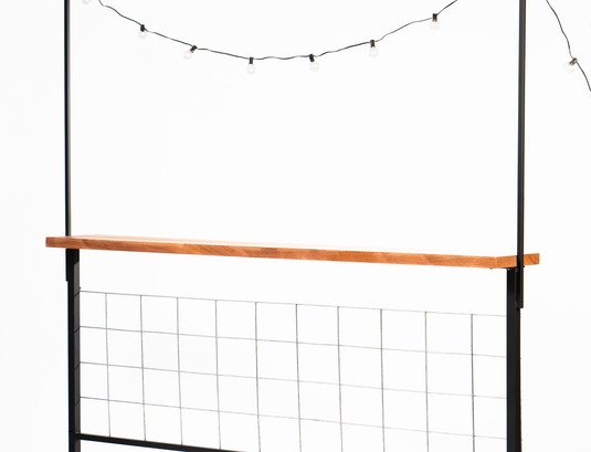Drink Rail Paritions for Outdoors