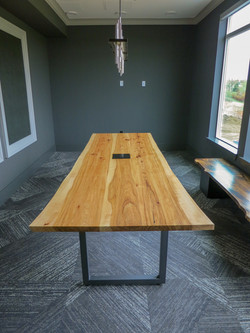Custom conference table in Denver