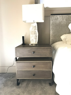 custom bedside table