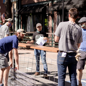 The 24-Hour Design Solution Behind Arvada's New Street Patio